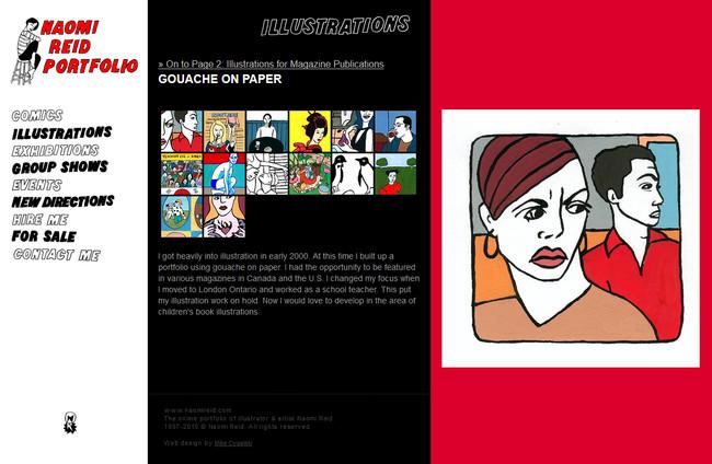 Web Design Portfolio Artist Portfolio Websites