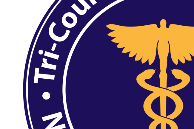 Tri-County Patient Transfer logo design detail